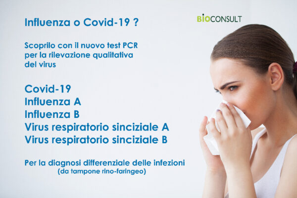 Test multiplex PCR influenza-Covid-19
